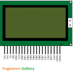 Graphical LCD pin diagram