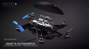 HEXO + : A flying camera that follows and films you.