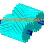 Mechanical Gear Herringbone Gear