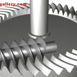 Mechanical Gear Screw Gear