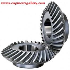 Mechanical Gear Spiral Bevel Gear