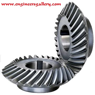 Mechanical Gear Spiral Bevel Gear