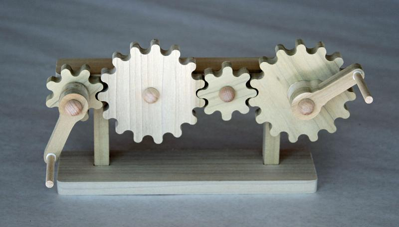 the simple application and uses of gears The mangle gear is a mesmerizing little piece of engineering  nonetheless,  denha found a way to use it to make a fun little elevator:.