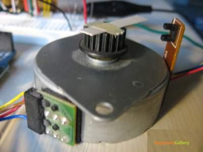 stepper motor control arduino