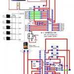 Circuit Diagram of namaste robot