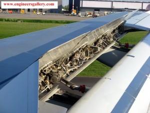 Air Brake in Plane