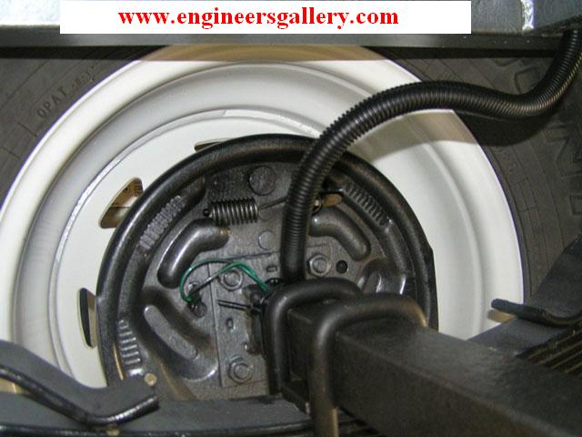 Electric Brake in Vehicle