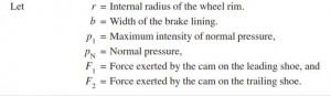 equation of Interanal Expanding Break