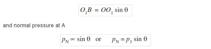 equation of Interanal Expanding Break