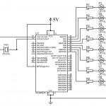 Blinking-LED-using-PIC-Microcontroller-Circuit-Diagram
