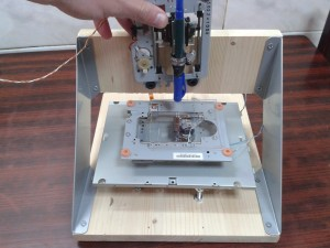 CNC Plotter arduino project