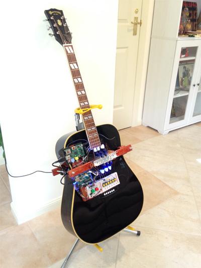 robot guitar