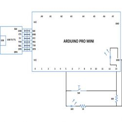 Use Digital Input And Digital Output Of Arduino