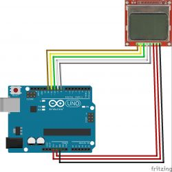 Interfacing Nokia LCD With Arduino