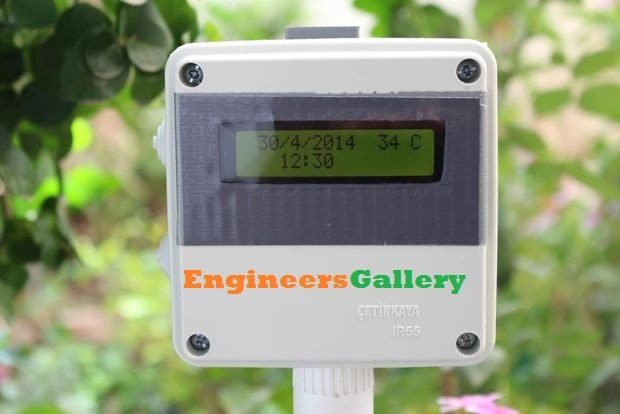 arduino Temperature Data Logger