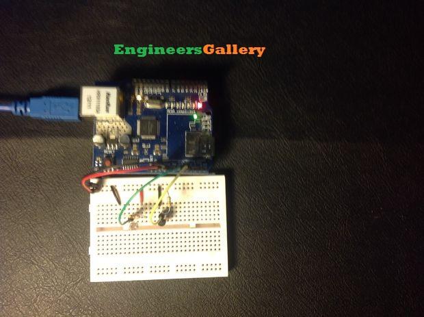 arduino temperature logger ide