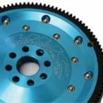 Flywheel with web (no spokes)