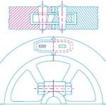 Split flywheel