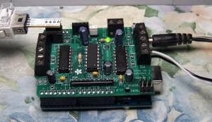 Arduino Model Train connecting