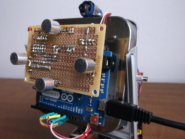 Sound Localization using Arduino