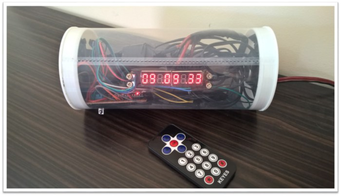 HOW TO MAKE AN ALARM CLOCK WITH INFRARED AND BLUETOOTH