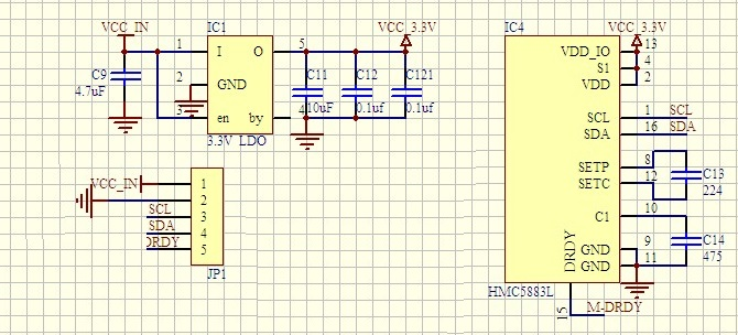 Arduino Power Down Mode With Accelerometer Compass And