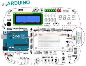 Car Parking Sensor with dnyarduino 1
