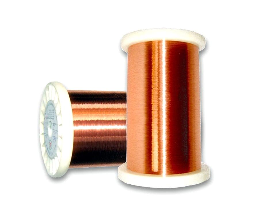 copper wire resistivity The copper wire above is reduced to gauge 24 and cross-sectional area 0205 mm 2 the increase in resistance can be calculated to the increase in resistance can be calculated to r = (17 x 10 -8 ω m) (10 m) / ((0205 mm 2 )(10 -6 m 2 /mm 2 ).