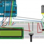 Handmade LED and DC motor control with capacitive sensor1