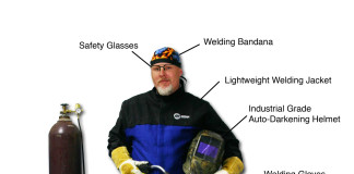 Safety Precautions while Working in Welding shop
