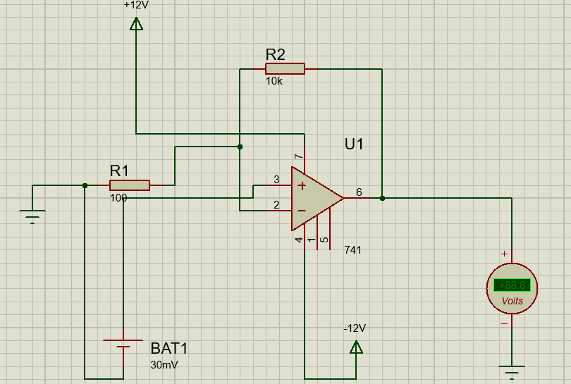 vibration sensor circuit and op amp 741 engineers gallery