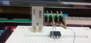 Vibration Sensor Circuit and OP-AMP 741 - Copy