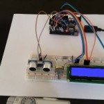 With the Arduino Uno and HC-SR04 Distance Measuring Using Lcd1