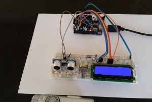 Arduino Uno and HC-SR04 Distance Measuring Using Lcd | Engineers Gallery