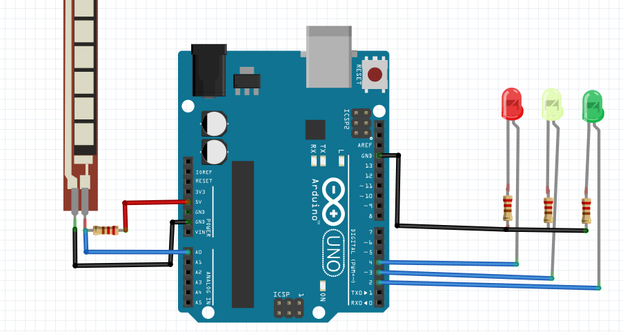 arduino with flex sensor