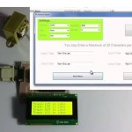 Displaying Moving Message On Notice Board Using PC3