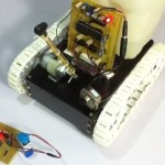 Fire Fighter Robot With Night Vision Camera