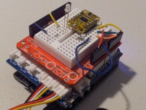 MOTION DETECTOR PROJECT
