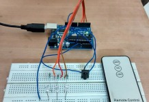 Arduino universal remote
