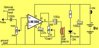 audio amplifier design