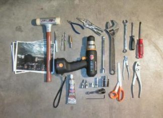 TOOLS USED IN FITTING SHOP