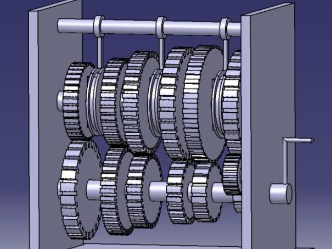 design-and-fabrication-of-six-speed-constant-mesh-gear-box