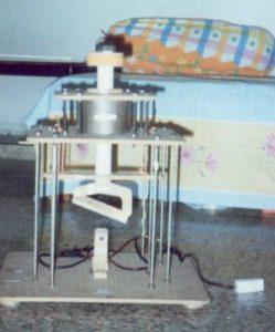 ELECTROMAGNETIC SHEARING MACHINE